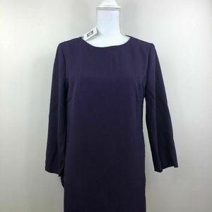 Anne Klein Womens Sheath Cape Dress Phoenix Purple